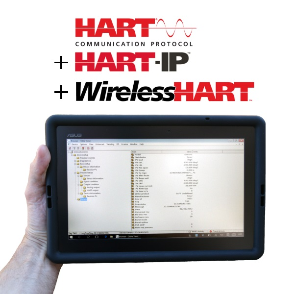 HART Communicator Windows Tablet COM-1