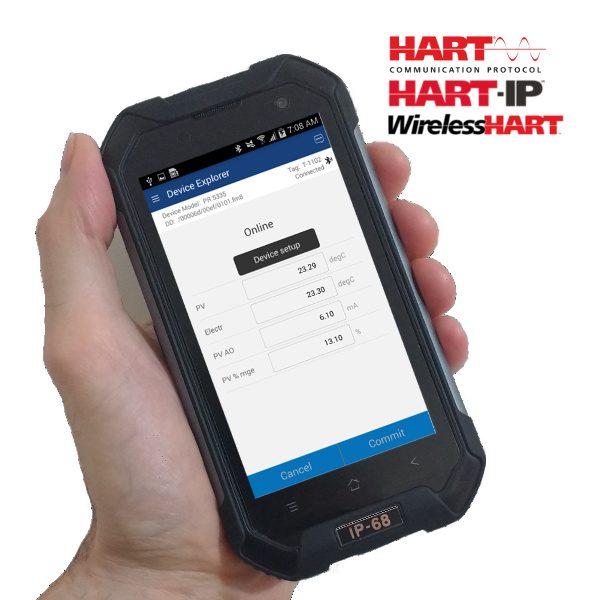 Handheld HART Communicator Smartphone COM-2